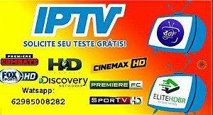 Lista de Canal Iptv com mais de 9000 Canais Canais SD, HD e FHD