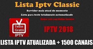 NOVO SERVIDOR CLASSIC  LISTA DE CANAIS IPTV, VEJA DIRETAMENTE EM SEU NAVEGADOR SEM PROGRAMAS