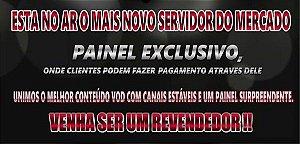 Seja um Revendedor Iptv lucre ate 100% com suas vendas com Painel de Revenda com 10 Creditos
