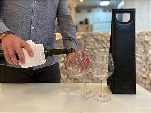 Bolsa para Vinho Térmica - Wine Deluxe Preta GPT402