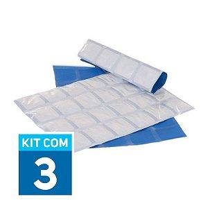 Gelo Artificial Reutilizável Gela Tudo| Kit com 3 unidades GPT297