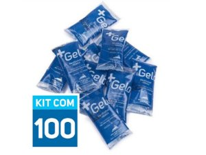 Gelo Gel Artificial Flexível +Gelo 15g | Kit com 100 unidades GPT2239