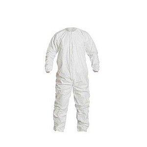 Macacão Tyvek® IsoClean® Não estéril simples com costura reforçada IC253B-BL