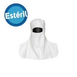 Capuz Tyvek® IsoClean® estéril com abertura para os olhos - IC666B-LS