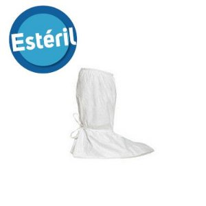 Cobre botas Tyvek® IsoClean® estéril com sola em Gripper™ - 1 Par - IC458B-LS