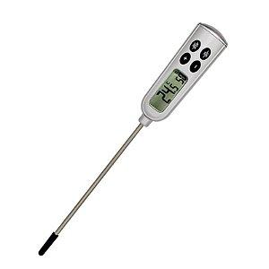 Termômetro digital Tipo Espeto (Haste) à Prova D'Água com Alarme GPT1234
