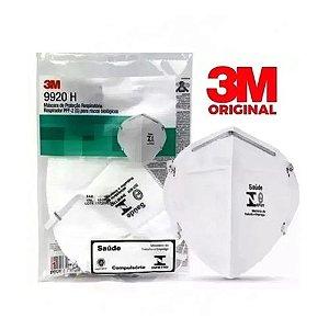 Máscara 3M Para Proteção Profissional N95 PFF2 9920H - CA 17611 - KIT COM 10 UNIDADES