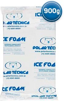 Gelo Artificial Espuma Ice Foam 900g | Kit com 07 Unidades