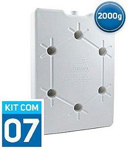 Gelo Gel Artificial Tech Gel 2000ml   Caixa Fechada com 07 unidades