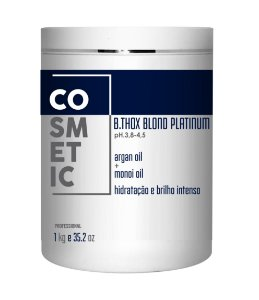 Botox Capital Para Loiras Blond Platinum - 1kg