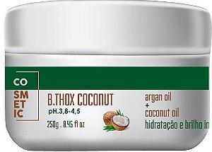 Botox Capilar De côco, Cabelo Sem Frizz, Hidratado e Nutrido - 250gr
