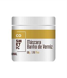 Amostra Banho De Verniz, Cabelo Hidratado, Macio E Brilhante - 50gr