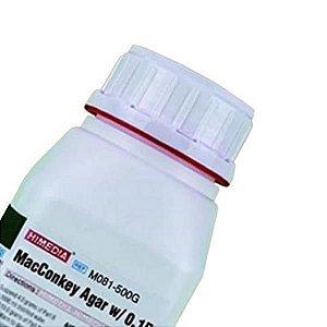 Agar MacConkey (com cristal violeta), Frasco com 500 gramas. mod.: M081-500G (Himedia)