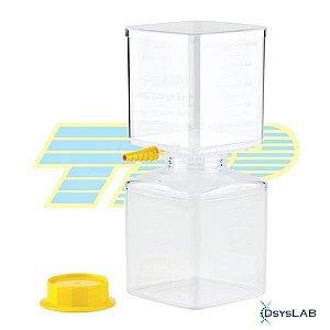 Sistema de filtração à vácuo em PS, 150 mL, membrana PES 0,22 uM, estéril, caixa com 18 unidades 99150 (TPP)