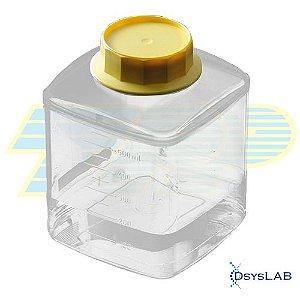 Reservatório (parte inferior) do sistema de filtração, 250mL, PS, caixa com 24 unidades mod.: 99257 (TPP)