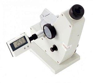Refratômetro ABBe, Escala de refração 1,300-1,700nd e 0-95% brix, sem maleta, mod.: AR1000S (Megabrix)