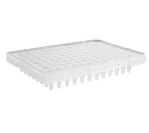 Microplaca de PCR 96 poços, sem borda, poços elevador, mod.: PCR-96-MB-C (Axygen)