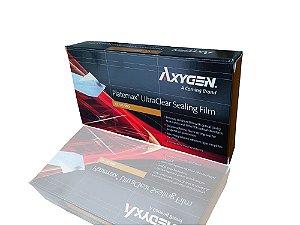 Filme selador ultraclear, para microplacas de PCR, pacote c/100 unidades, mod.: UC-500-DSY (Axygen)