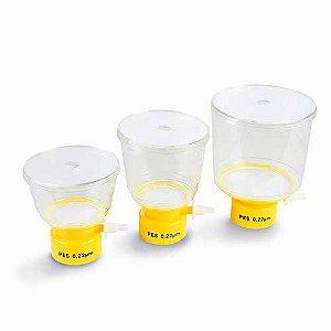 Refil copo superior em ABS, capacidade de 500 mL, membrana PES 0,22 uM, estéril, mod.: 99505 (TPP)