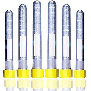 Tubo para cultivo celular de 5 mL, estéril, pacote com 20 unidades, mod.: 91106 (TPP)
