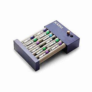 Agitador Basic Roller, velocidade entre 20 e 80 RPM, 220V, mod.: K45-8020 (Kasvi)