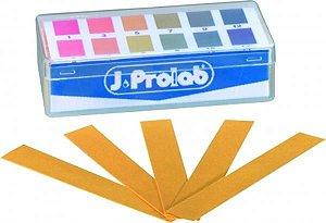 Tira de pH 1 à 14, caixa com 200 unidades