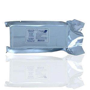 Lamínula de vidro para microscopia, 24x24 mm, pacote com 10 caixas com 100 unidades, mod.: P24X24 (Precision)