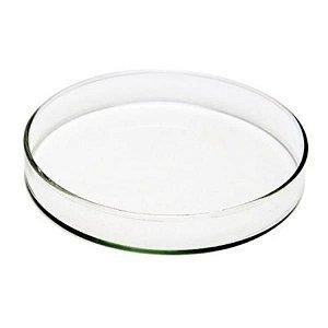 Placa de Petri para microbiologia 80x15mm em vidro, caixa com 48 unidades, mod.: PV8015 (Precision)