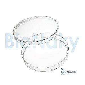 Placa de Petri para cultivo celular 100x20mm, estéril, pacote com 20 unidades, mod.: PC10020E (Bionaky)