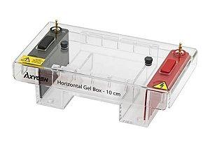 Cuba para eletroforese horizontal, tamanho de 15 x 15 cm, mod.: HGB-15 (Axygen)