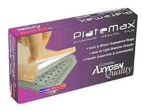 Filme em alumínio para vedação de microplacas, caixa com 100 unidades, mod.: PCR-AS-600 (Axygen)