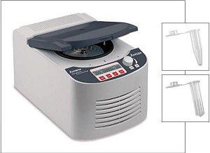 Microcentrífuga refrigerada para até 24 microtubos de 1,5/2 mL, 13500 RPM, 110V, mod.: 601-05-031 (Axygen)
