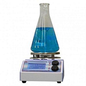Agitador Magnético com aquecimento, velocidade entre 100 e 2000 RPM, 110V, mod.: Q261M12 (Quimis)