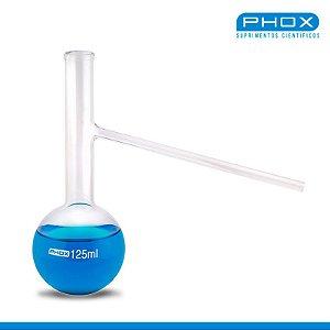 Balão Destilação de 125 mL, unidade, mod.: 1131-125 (Phox)