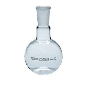 Balão Fundo Chato em Borossilicato de 500 mL, com Junta 24/40, unidade, mod.: 5007-500 (Phox)
