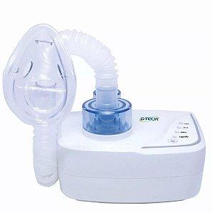 Inalador e Nebulizador Ultrassônico com Máscaras Adulta e Infantil, Bivolt, unidade, mod.: NEBUDES2 (G-Tech)