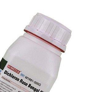 Agar Dicloran Rosa Bengala Cloranfenicol (DRBC), Frasco com 500 gramas, mod.: M1881-500G (Himedia)