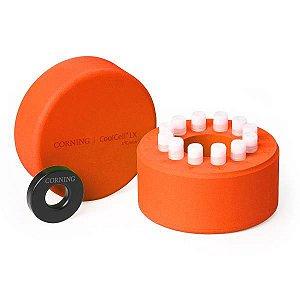 Sistema de Congelamento CoolCell LX, para 12 tubos, cor laranja, unidade mod.: 432003 (Corning)