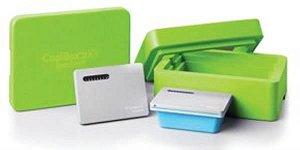 Sistema de Refrigeração e Congelamento Coolbox 2XT, cor verde. mod.: 432026 (Corning)