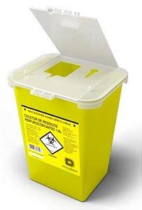 Coletor Rígido para Material Perfurocortante, 13 litros, Unidade, mod.: 0146301 (Descarpack)