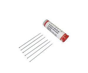 Tubo Capilar com Heparina, vermelho, frasco com 100 unidades, mod.: GETC-R-100 (Ionglass)