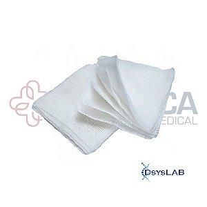 Compressa de Gaze estéril, 7,5x7,5cm, 11 fios, pacote com 10 unidades, mod.: COGA7511F010333 (America Medical)