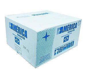 Compressa de Gaze não estéril, tamanho 7,5x7,5cm, 13 fios, pacote com 500 unidades, mod.: COGA7513F500333 (America Medical)