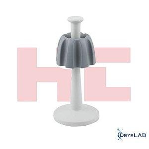 Suporte Múltiplo (Giratório) para 8 micropipetas monocanais e mutlicanais, mod.: 5449 (HTL)