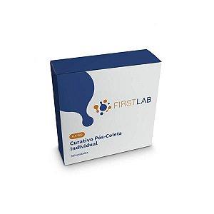 Curativo Pós Coleta Individual, 25mm, Transparente, Caixa com 500 unidades, mod.: FL5-002 (FirstLab)