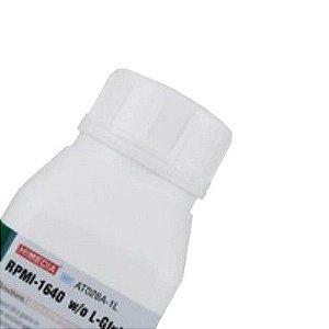 RPMI 1640 Sem L-Glutamina e Bicarbonato de Sódio, para 1 Litro, mod.: AT028A-1L (Himedia)