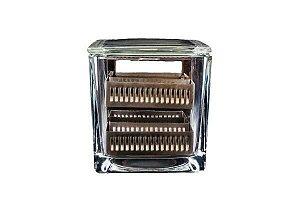 Rack (Berço) para Cuba de Coloração em Inox, Capacidade para 30 Lâminas, Unidade, mod.: NEO563 (Neolab)
