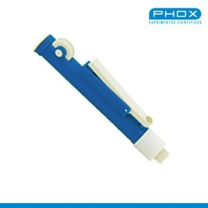 Pipetador de volumes manual, tipo Pi-Pump, capacidade de 2mL, mod.: PP-002 (Phox)