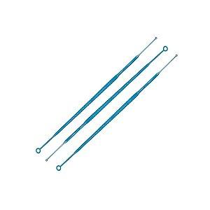 Alça 10 uL descartável e estéril, embalada individualmente, mod.: 182881P-UND (Cralplast)