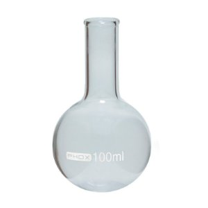 Balão Fundo Redondo em Borossilicato de 250 mL, sem Junta, unidade, mod.: 1115-250 (Phox)